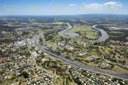 Aerial view of Goodna