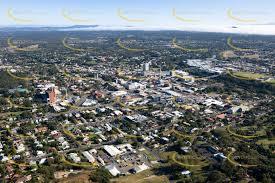 Aerial view of Ipswich, Queensland