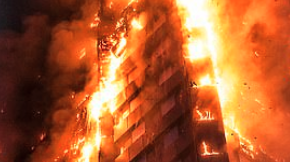 Combustible Cladding Fire